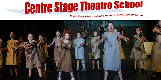 Junior Music Theatre Production - ages 8-9 - Wednesdays 6:35-7:35p.m. - Fall/Winter, 2019/2020