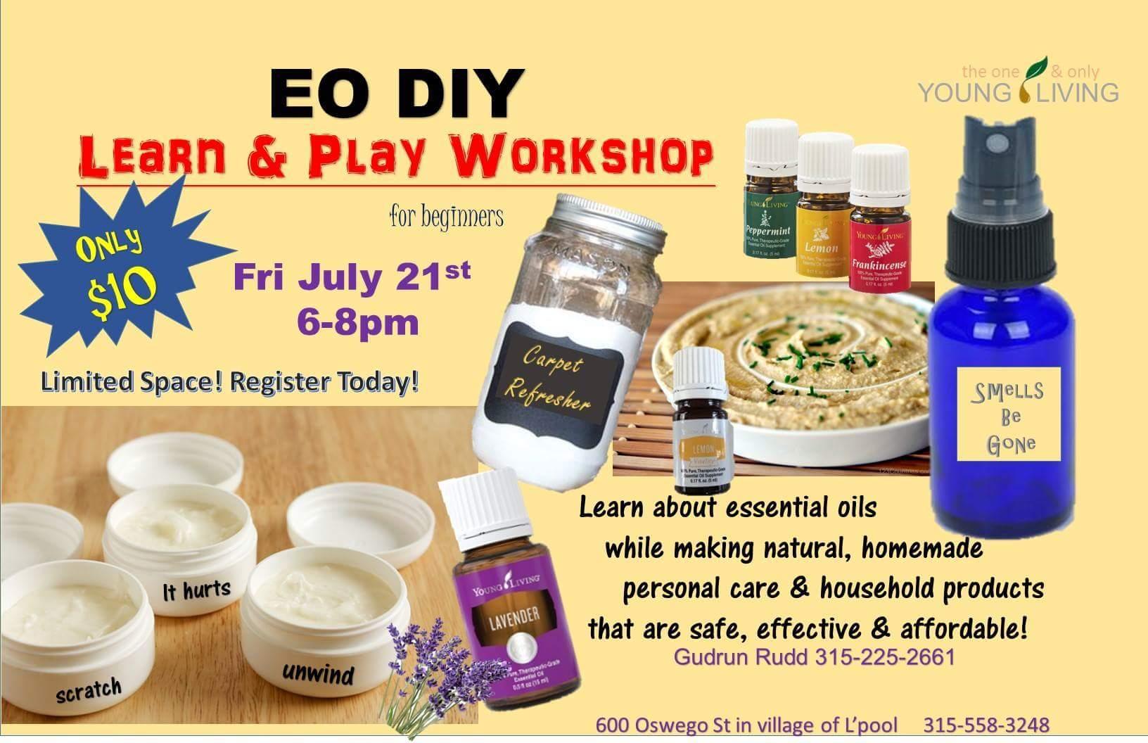 EO DIY Learn & Play Workshop