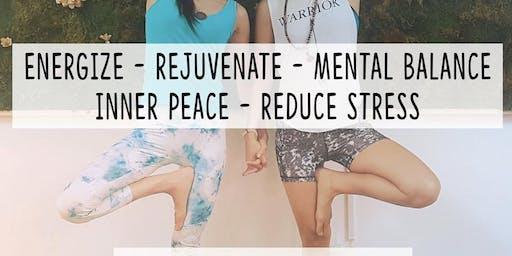FREE GENTLE YOGA CLASS ~ Calming & Balancing