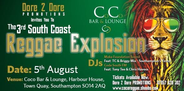 The South Coast Reggae Explosion