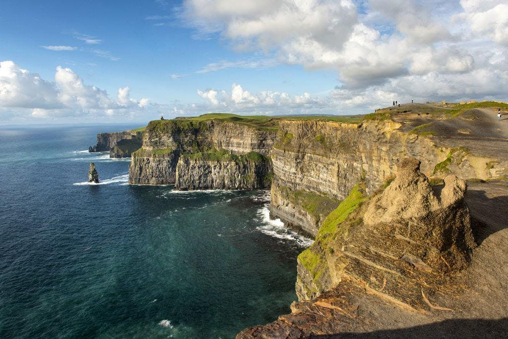 Cliffs Of Moher, the Burren and Galway Tour From Dublin Jul18Nov18