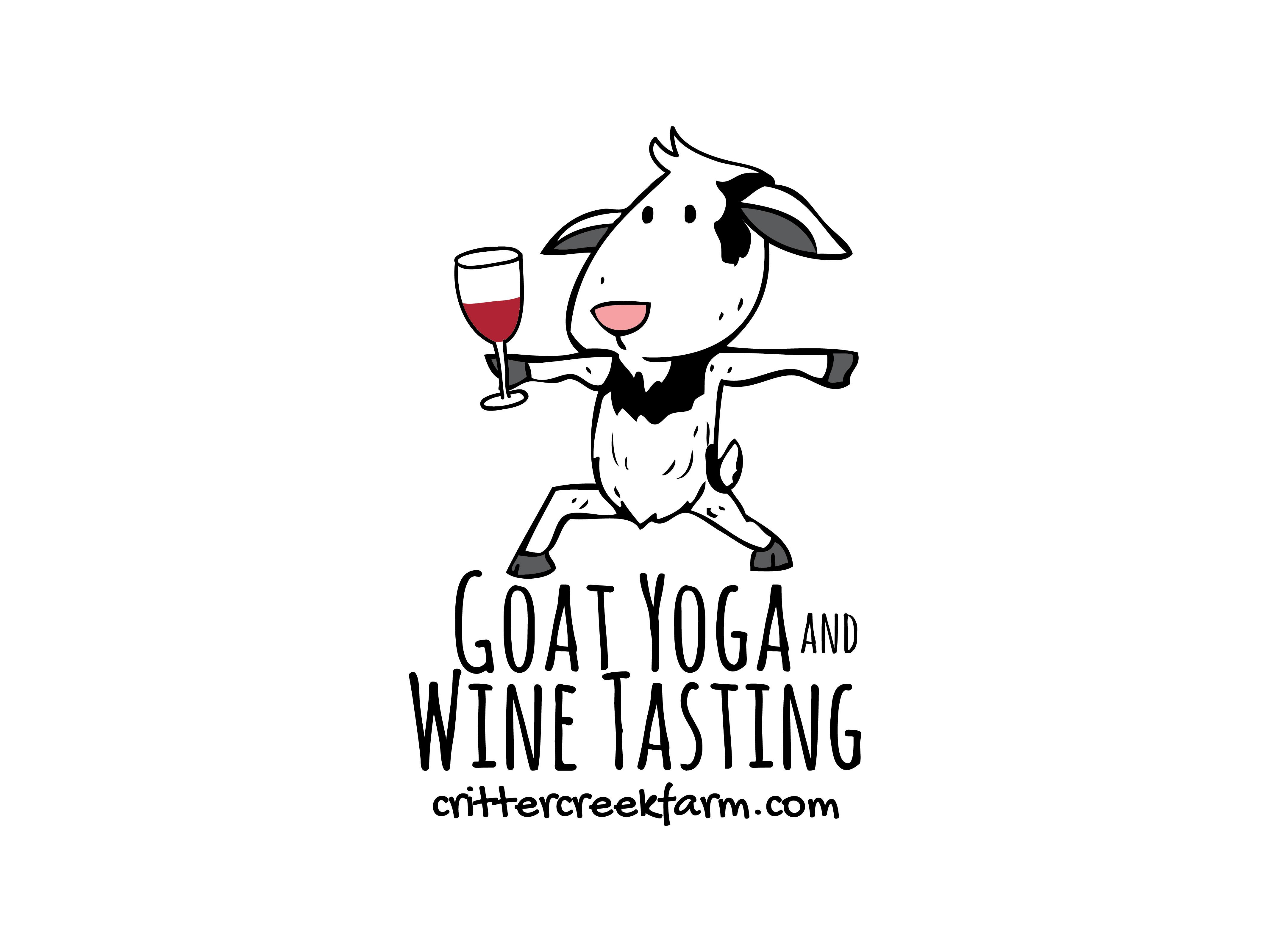 Goat Yoga and Wine Tasting