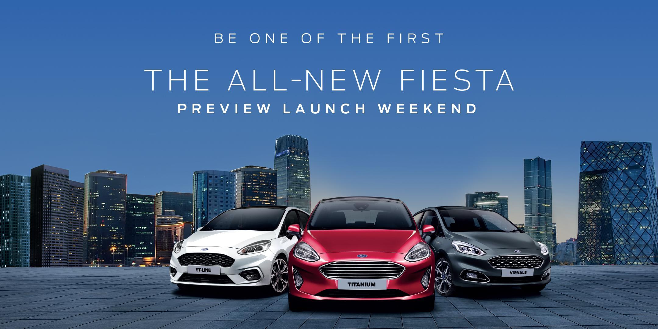 All-New Fiesta VIP Event Invitation - Ford Le