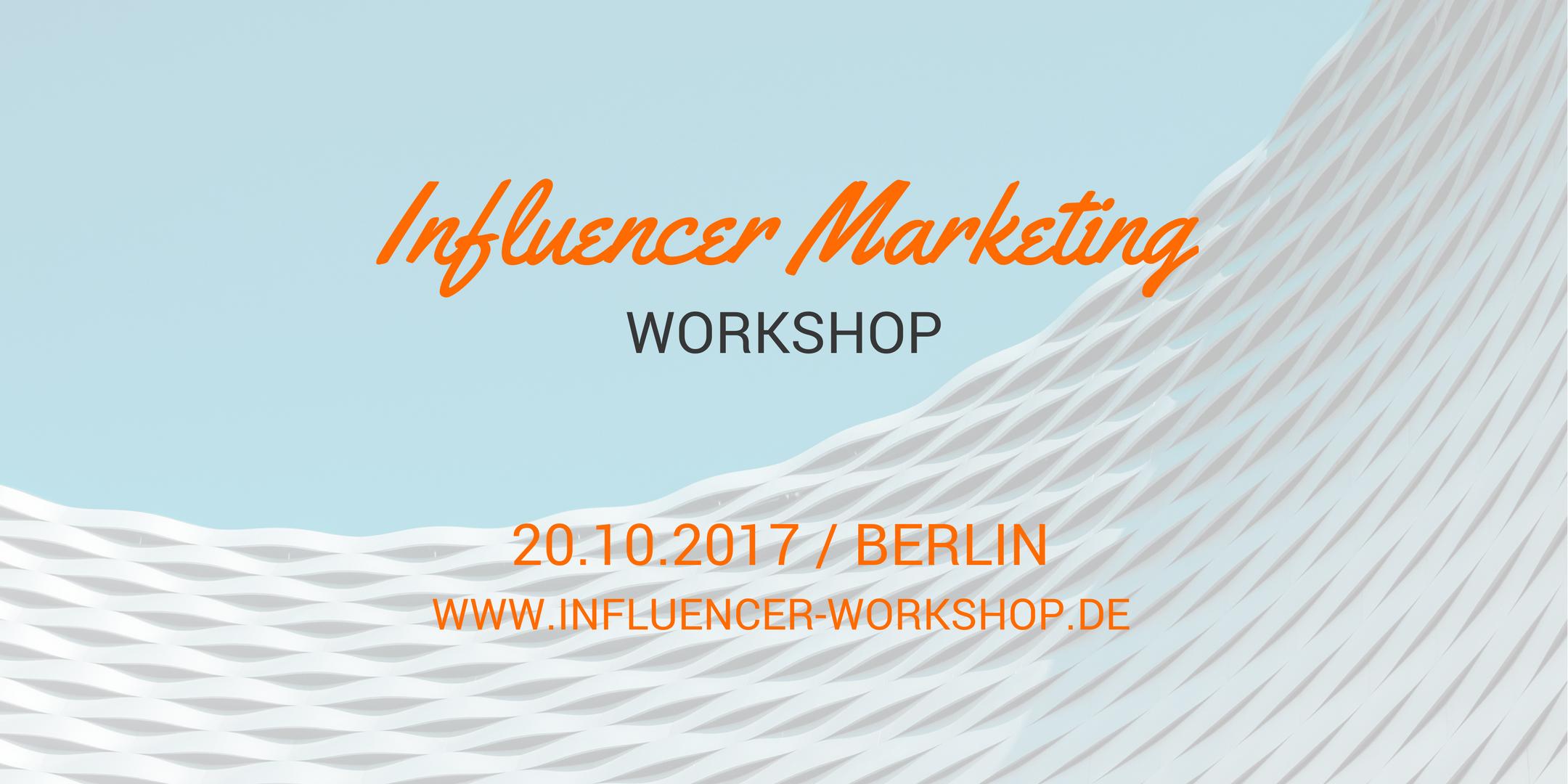 Influencer Marketing Workshop by Influry