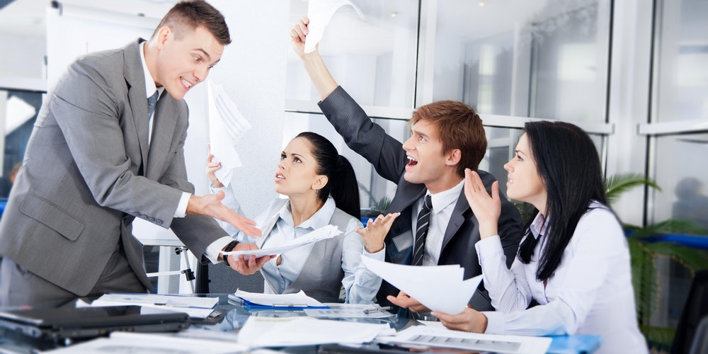 workplace conflict when brainstorming leads to