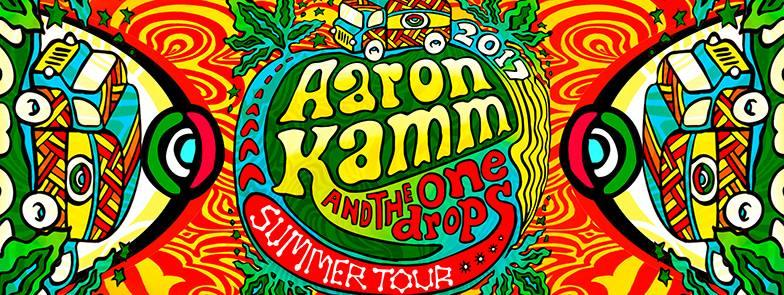 Aaron Kamm and the One Drops - [reggae/blues/jam]