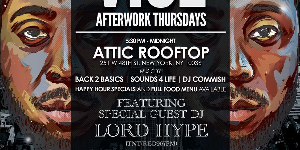Vice After Work Thursdays Feat Lord Hype Trinidad Red 96
