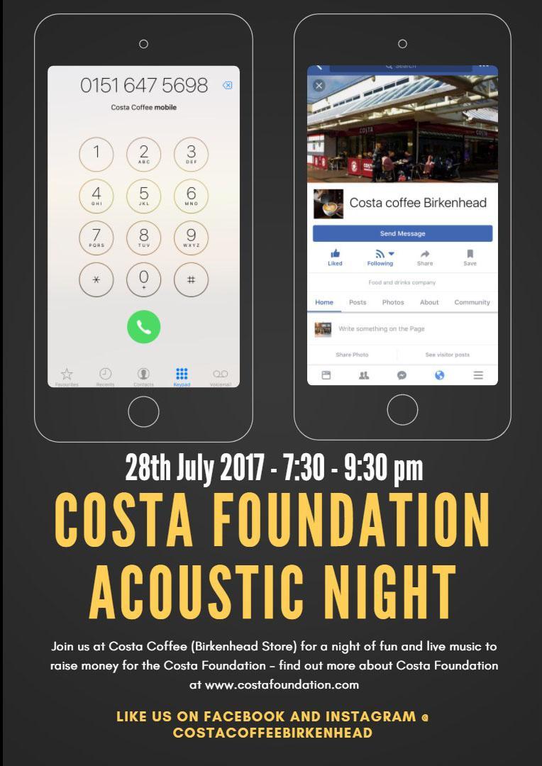 Costa Foundation Acoustic Night