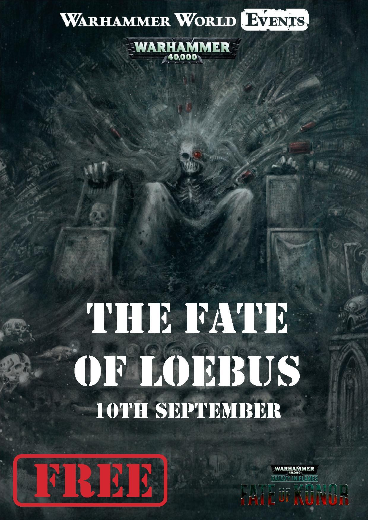 The Fate of Loebus