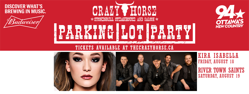 Crazy Horse Outdoor Parking Lot Party Feat. River Town Saints