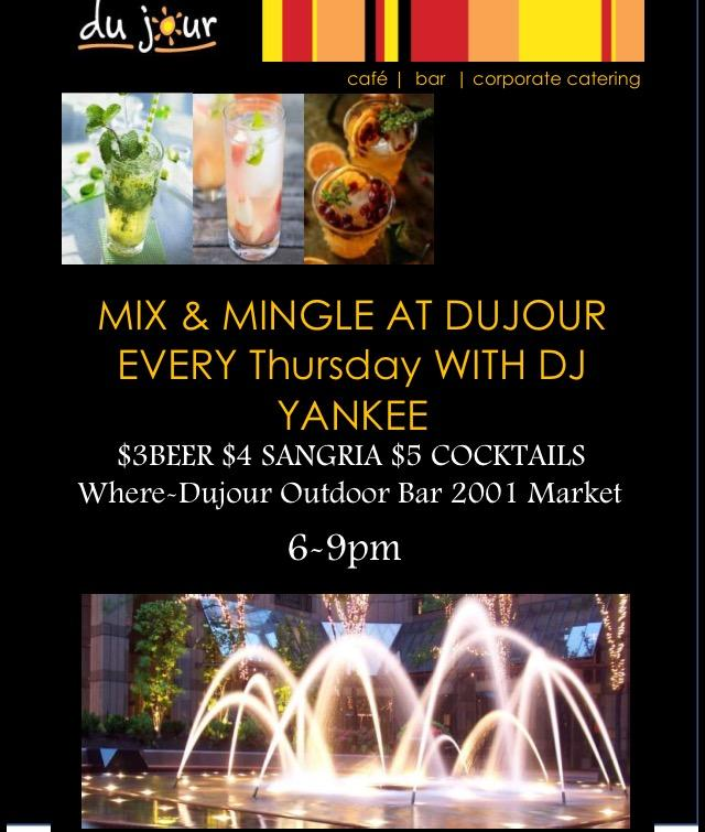 Mix and Mingle. Mix and Mingle