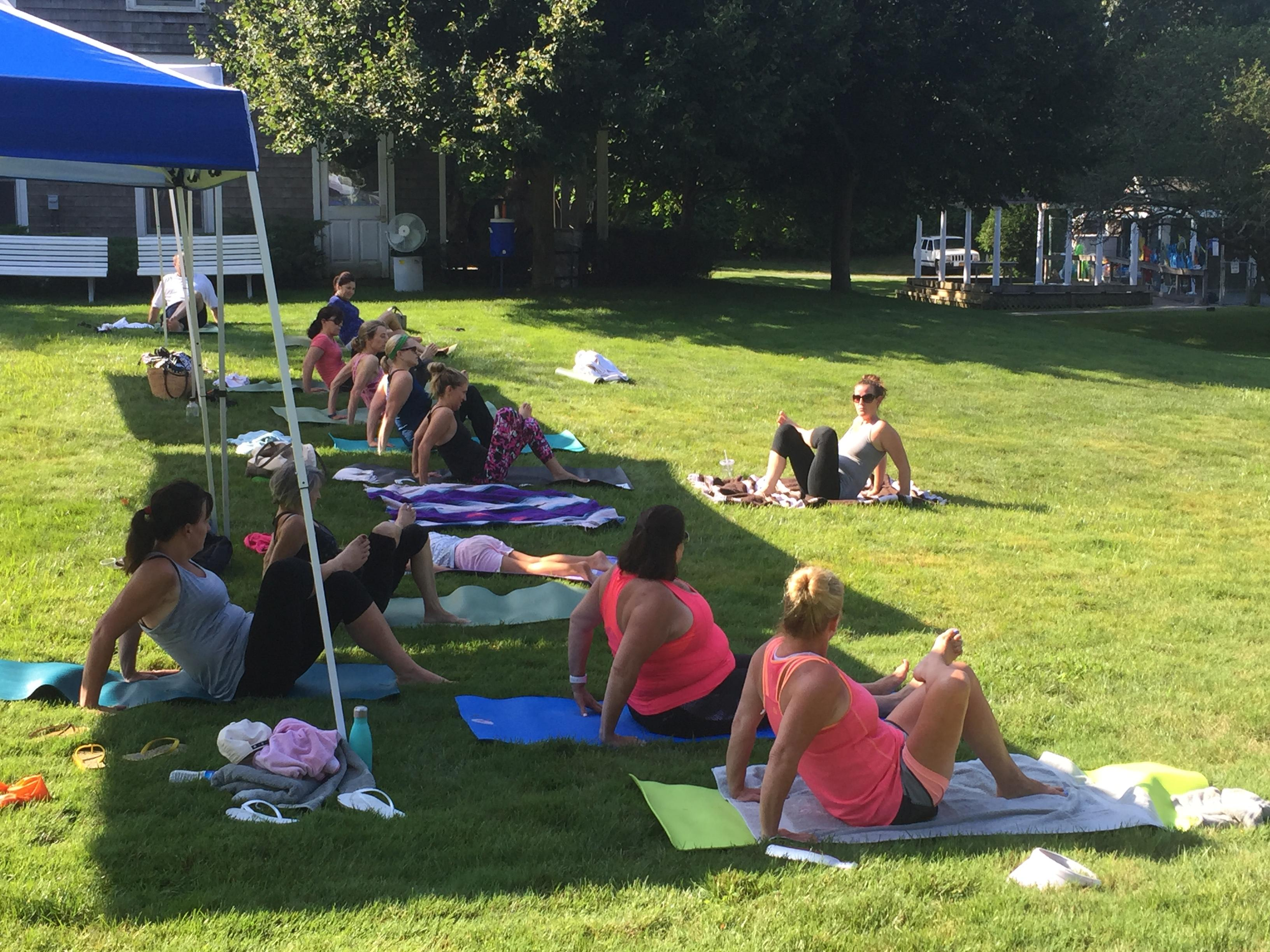 Yoga and Fun at SFAH for Charity