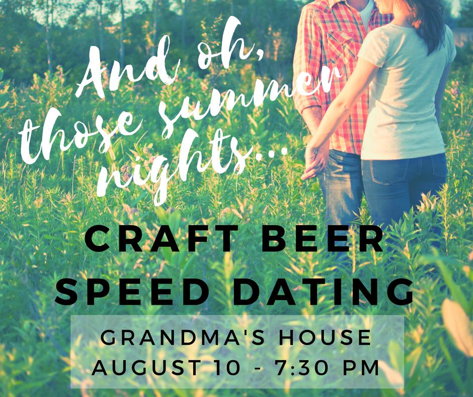 Tap That Denver: Craft Beer Speed Dating!. Tap That Denver: Craft Beer Speed Dating!