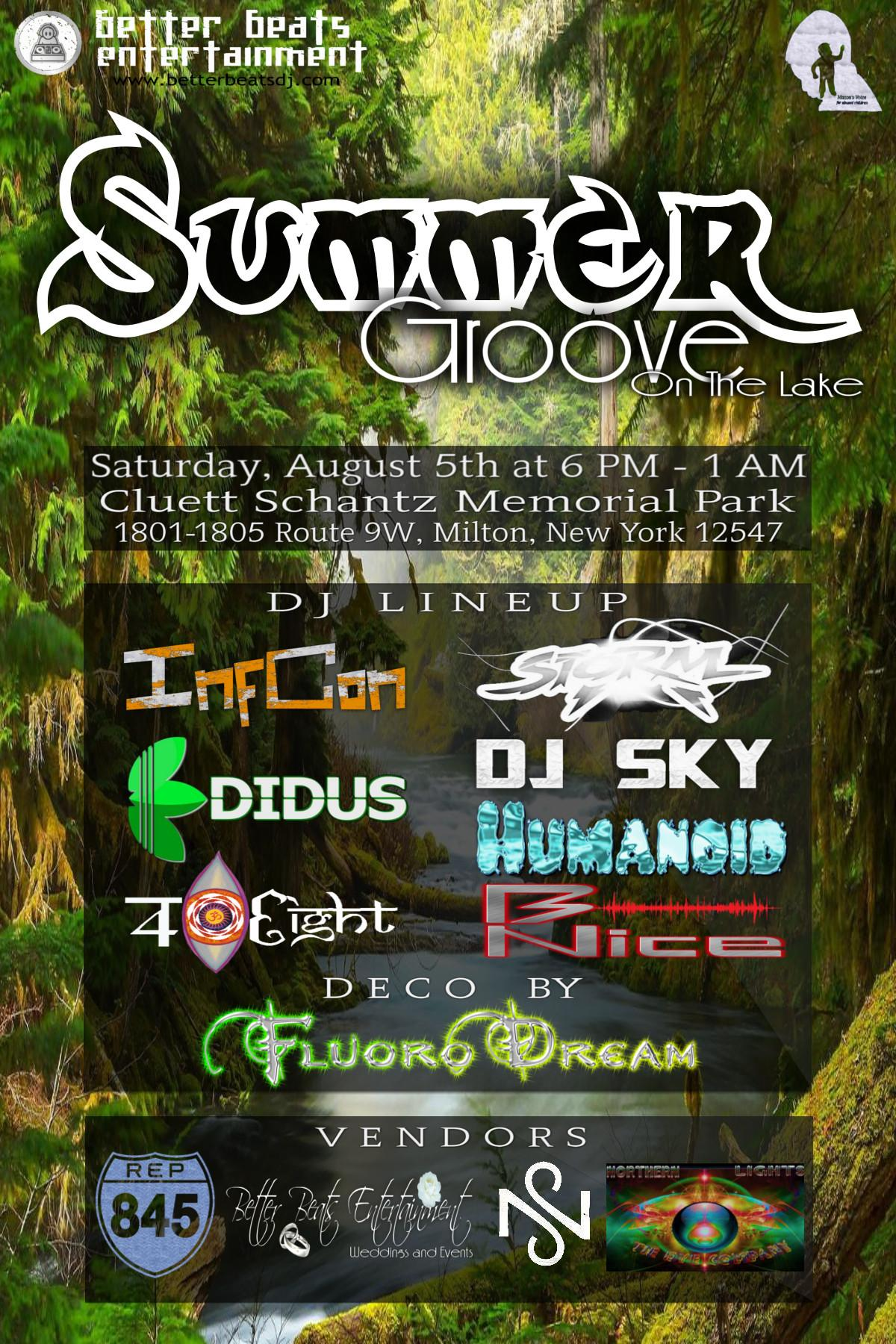 Summer Groove (On The Lake!)