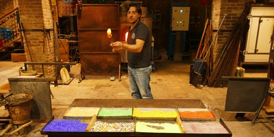 Murano Glass Working Demonstration - Afternoon