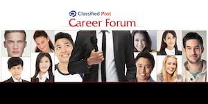 Classified Post Career Forum - 24 October 2017
