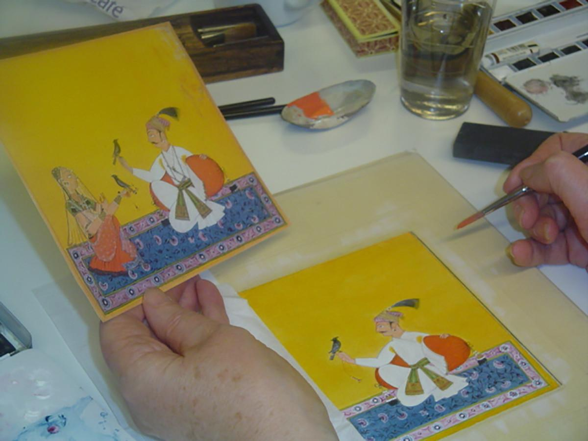 Indo-Persian Miniature Painting Summer Worksh