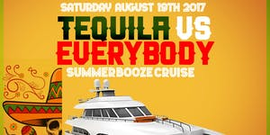 Tequila vs EveryONE #GQEVENT SUMMER BOOZE CRUISE YACHT...
