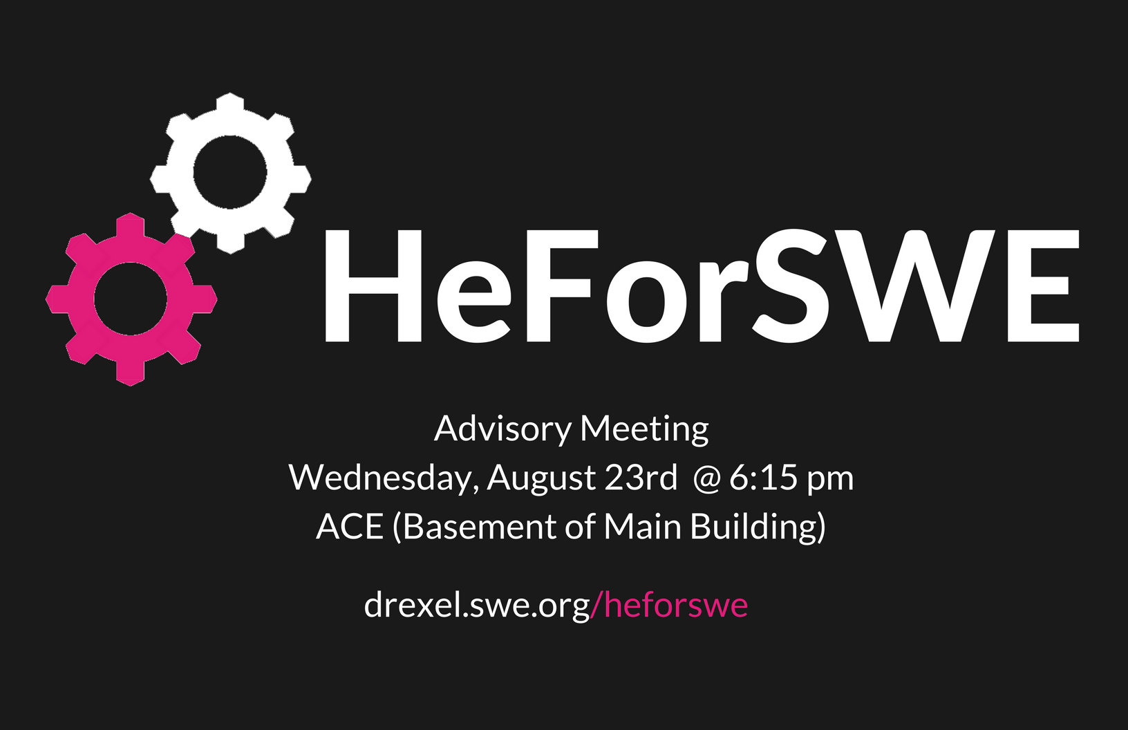 HeForSWE - Kickoff Meeting/August 2017 Meetin