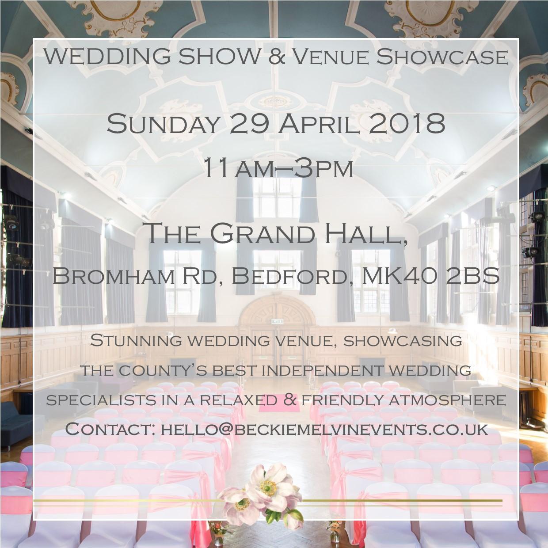 Wedding Showcase - The Grand Hall, Bedford