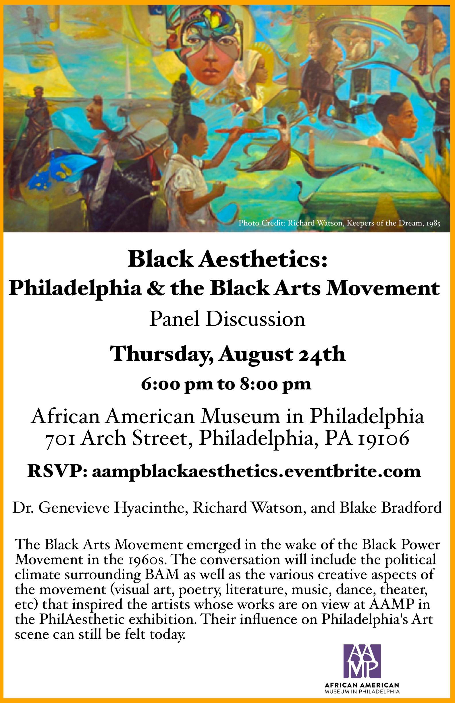Black Aesthetics: Philadelphia and the Black Arts Movement