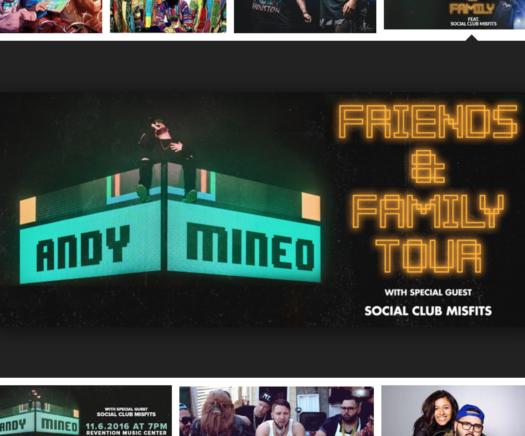 Andy Mineo - Friends & Family Tour - World Vision Volunteer - Albuquerque, NM