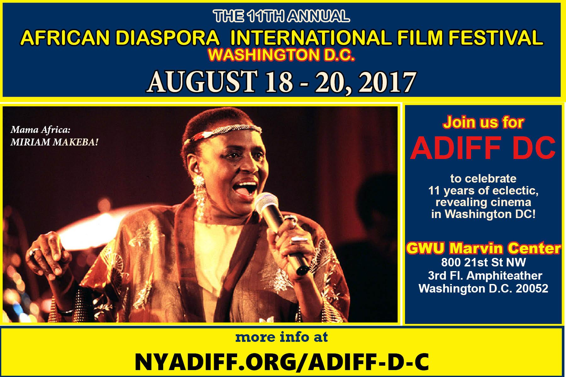 ADIFF WASHINGTON DC 2017