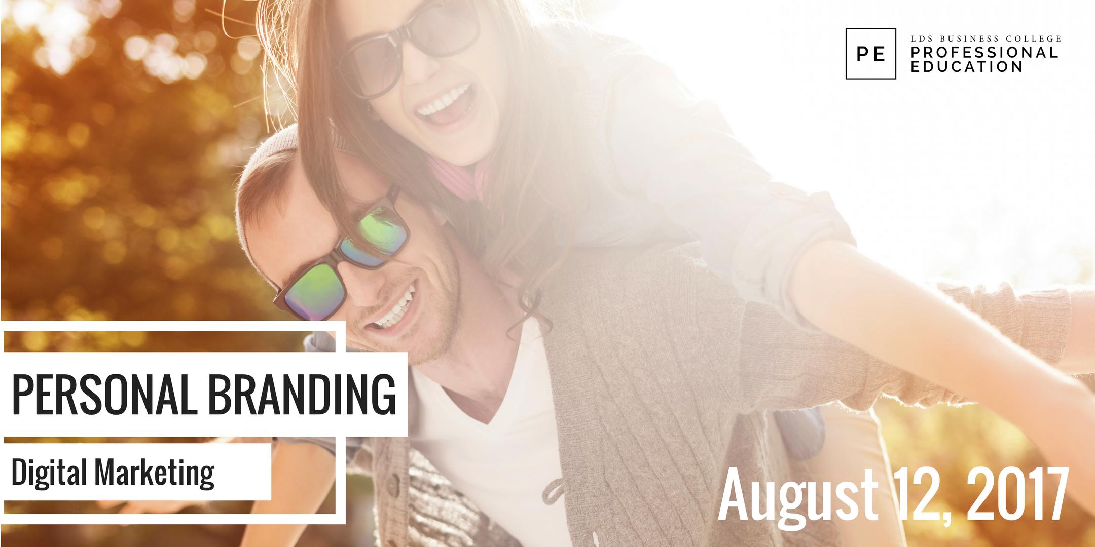 Digital Marketing: Personal Branding Workshop