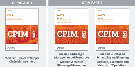 APICS.hk New CPIM Part-1 master instructor-led training (BSCM) tickets