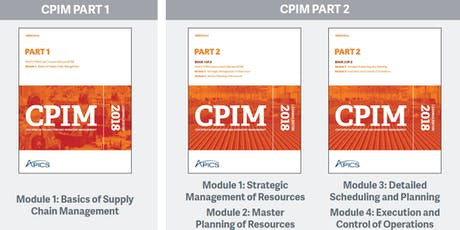 APICS.hk New CPIM Part-2 Master Instructor-led training (4-in-1, including MPR, DSP, ECO, SMR) tickets