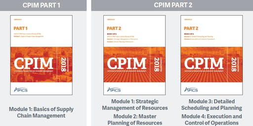 APICS.hk New CPIM Part-2 Master Instructor-led training (4-in-1, including MPR, DSP, ECO, SMR)