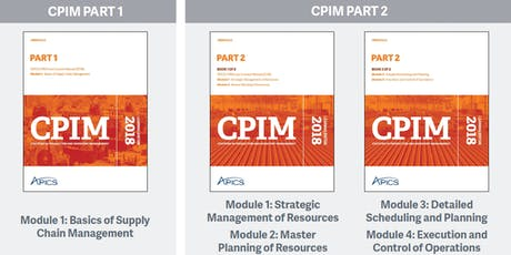 APICS.sg New CPIM Part-2 master instructor-led training (4-in-1, including MPR, DSP, ECO, SMR) tickets