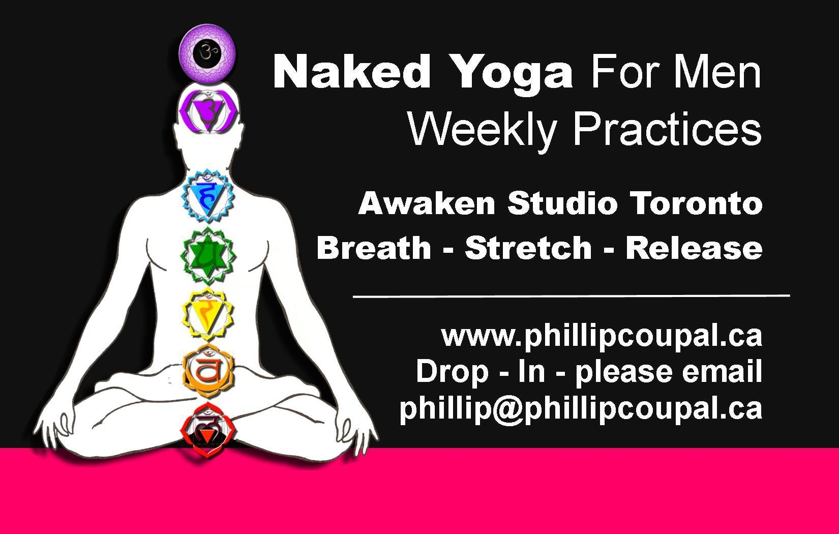 Naked Yoga for Men - Tuesday Evening at the A
