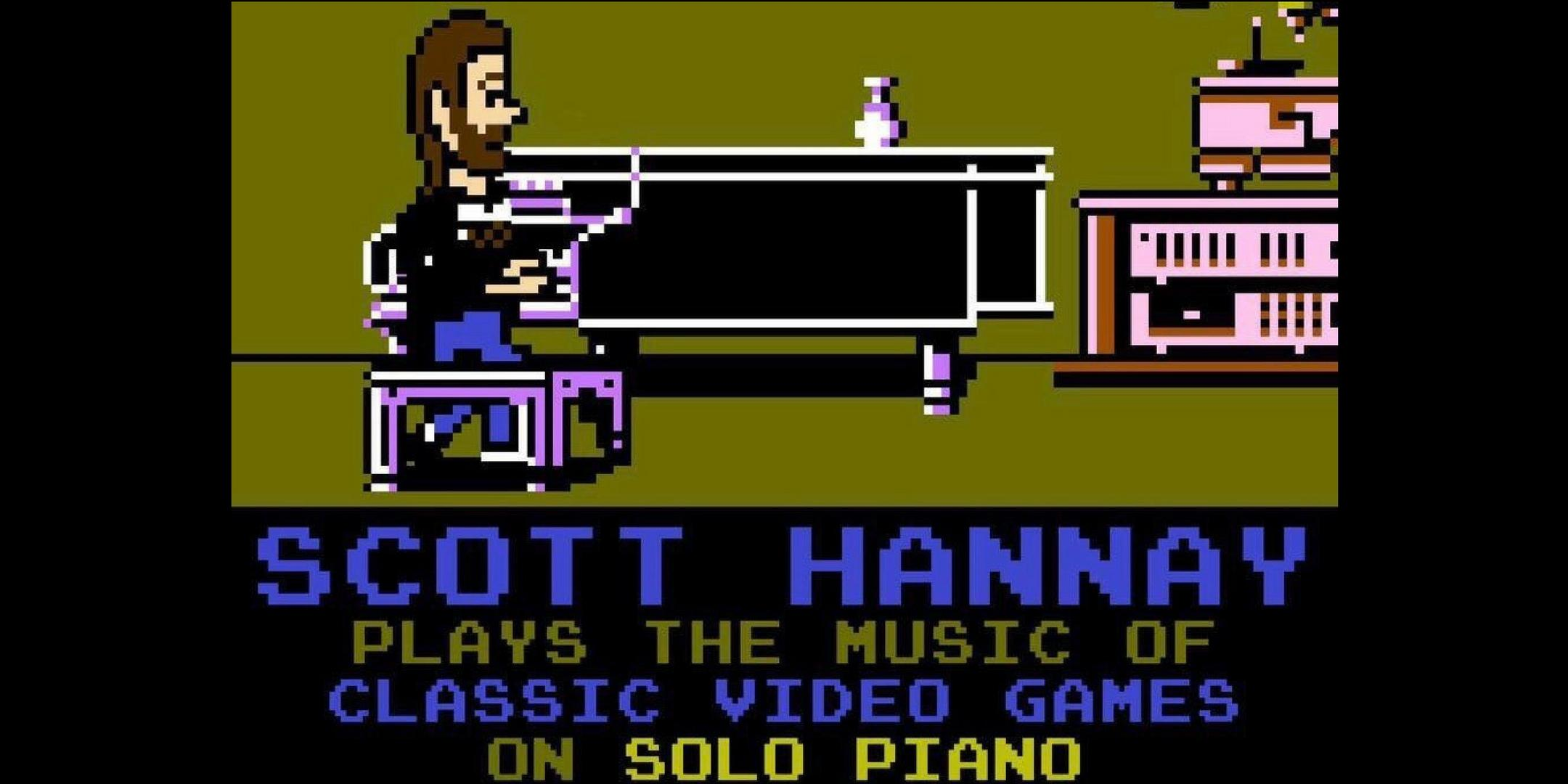 Scott Hannay of Mister F (Playing the music of Nintendo Games on a Solo Piano)