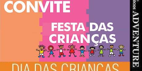 .:. Orçamento Organização Festa Dia Crianças ingressos