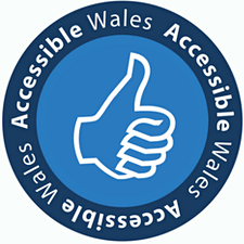 Accessible Wales logo