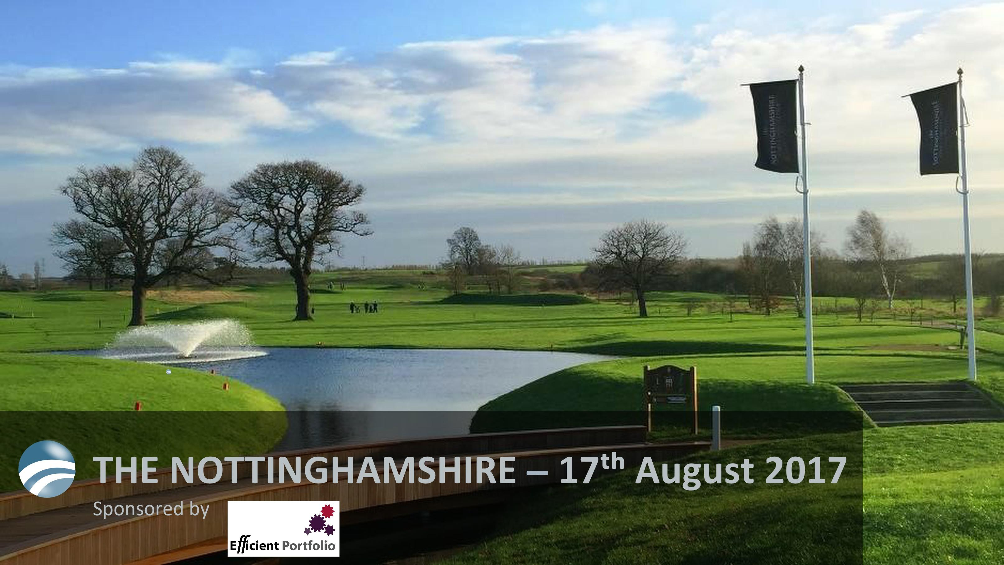Anthony James Golf Society - 17th August 2017