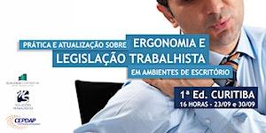 Prática e Atualização sobre Ergonomia e Legislação...