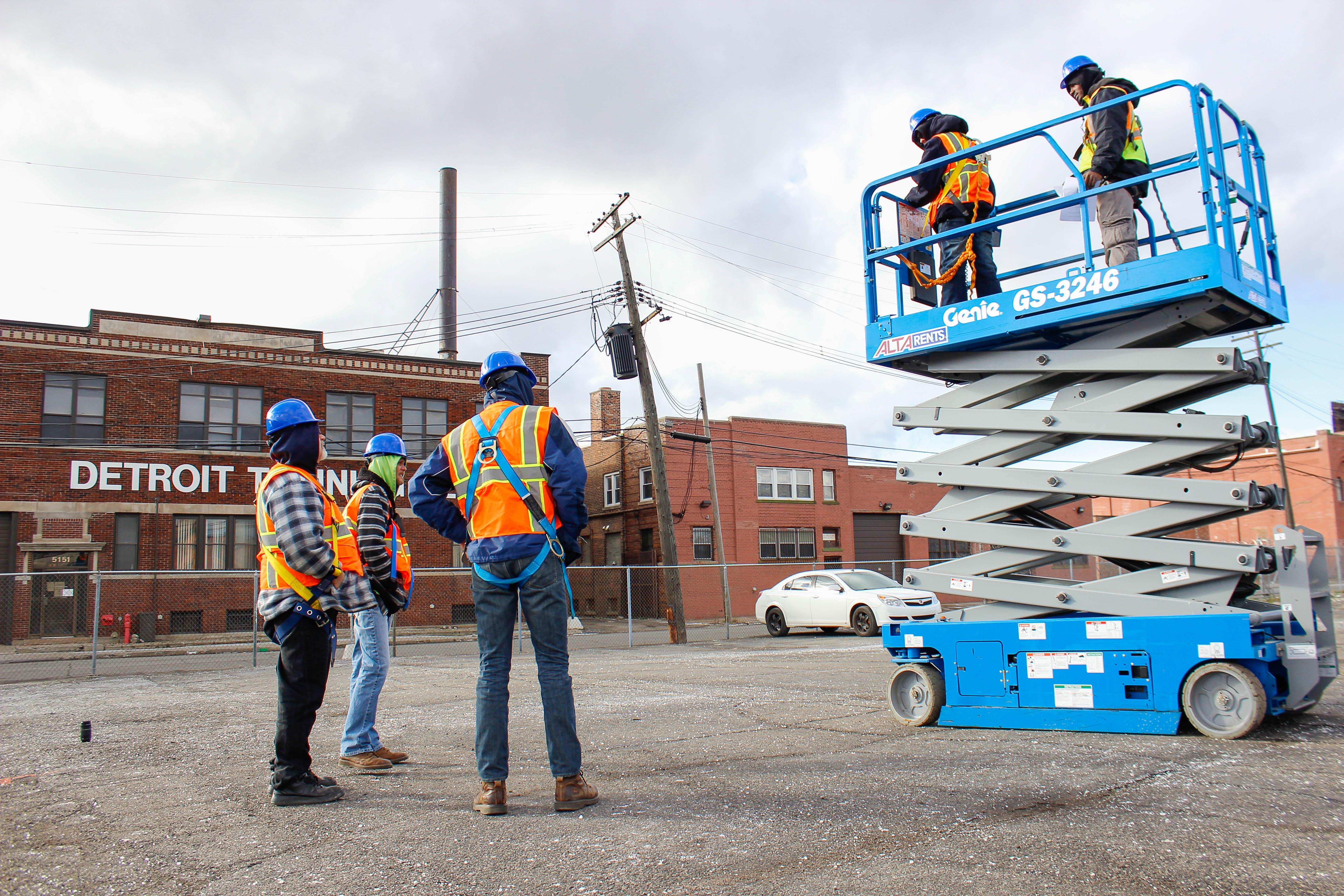 Aerial Lift Training Course