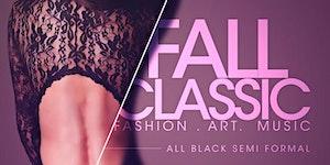 the FALL CLASSIC - All Black Semi Formal