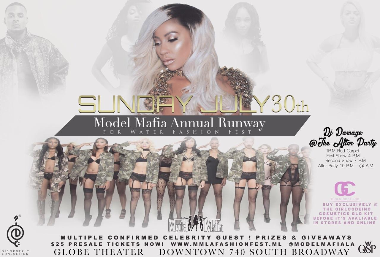 2nd ANNUAL MODEL MAFIA FASHION FESTIVAL &RUNWAY FOR WATER