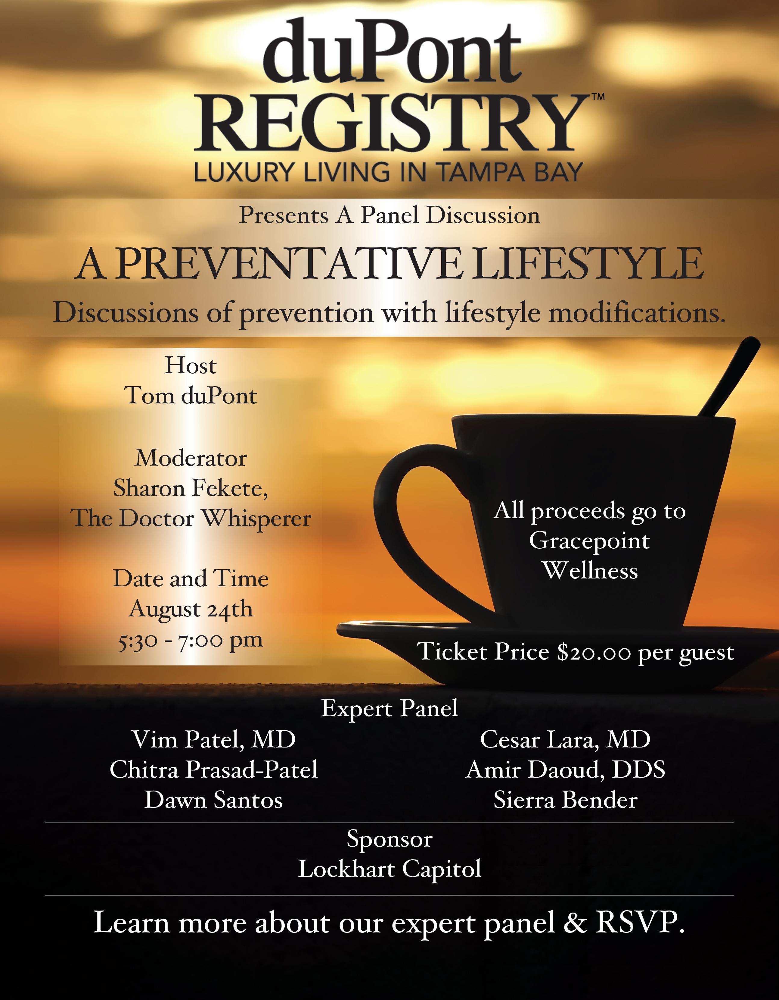 duPont REGISTRY presents: A PREVENTATIVE LIFE