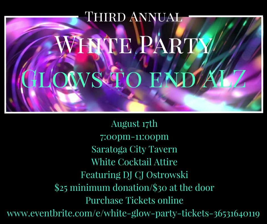 White Glow Party