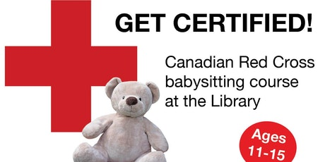 Red Cross Babysitting Course - Fall 2017 (Central Library) tickets
