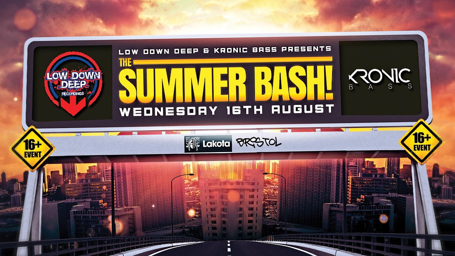 Low Down Deep & Kronic Bass Presents: The Sum