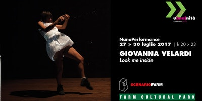 Look me inside   Nanoperformance di Giovanna Velardi