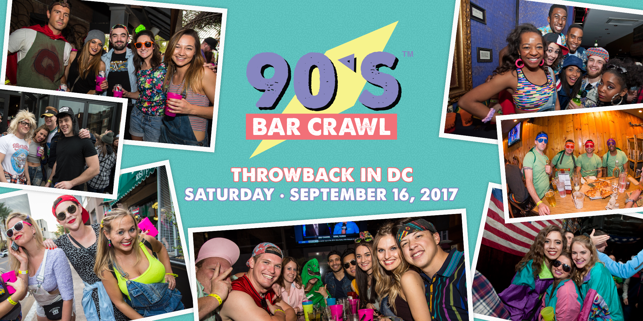 90s Bar Crawl - Washington, DC