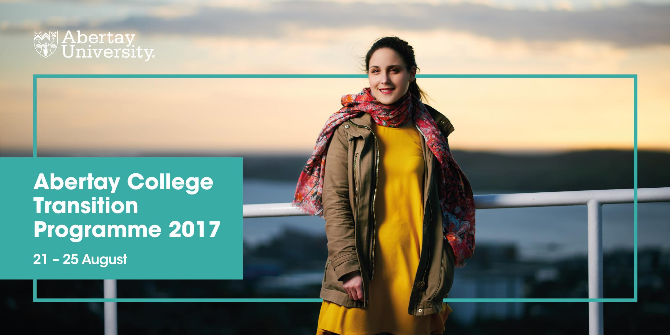 Abertay College Transition (ACT) Programme 20