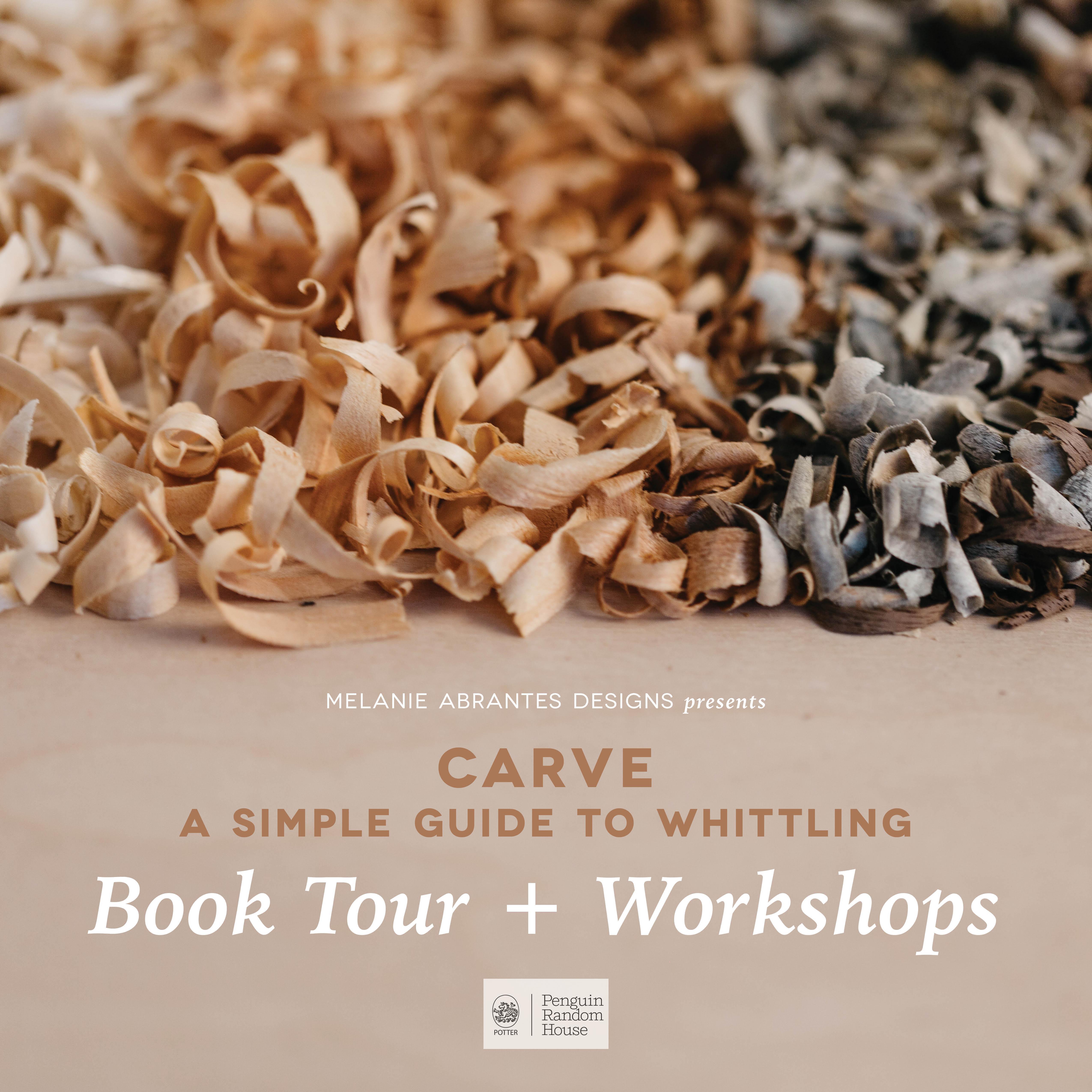 Carve Book Tour: Los Angeles Carving Workshop