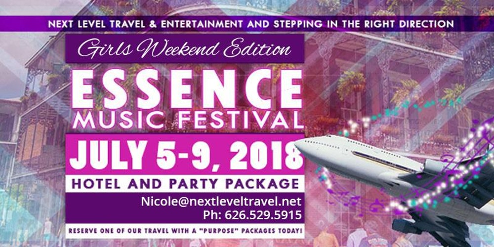 Essence Festival  Travel Packages